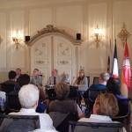 Notre délégation reçue en mairie de Lauterbourg.